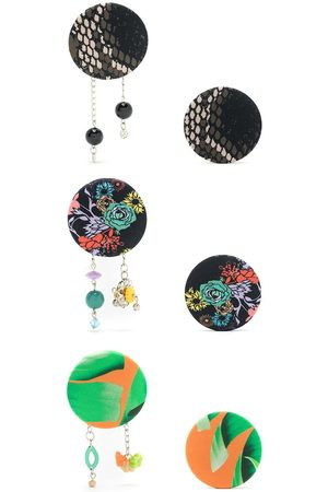 AMIR SLAMA Damen Ohrringe - 3 pair earring set