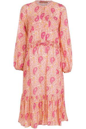 CLUBE BOSSA Printed long sleeves midi dress