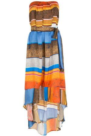 AMIR SLAMA Damen Freizeitkleider - Silk long dress