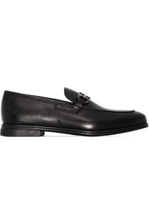 Salvatore Ferragamo Herren Halbschuhe - Gancini appliqué leather loafers