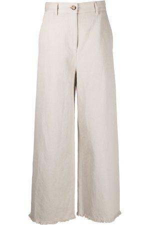 Msgm High-rise wide-leg trousers