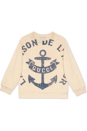 Gucci Slogan-print sweatshirt