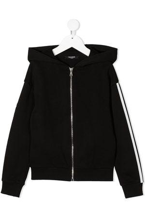 Balmain Jungen Sommerjacken - Side-logo zipped hoodie