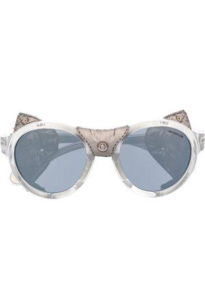 Moncler Sonnenbrillen - Studded leather sunglasses