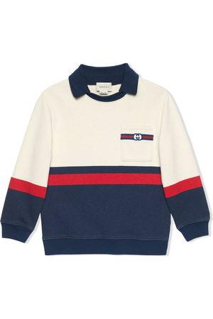 Gucci Jungen Shirts - Web-detail sweatshirt