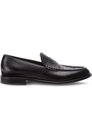 Fendi Perforated FF-pattern loafers