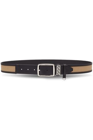 Fendi Herren Gürtel - FF-motif reversible buckle belt