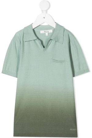 BONPOINT Dip-dyed polo-style jumper