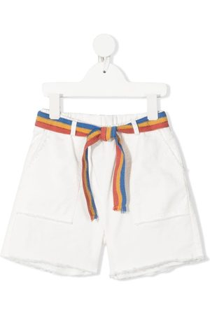 Zhoe & Tobiah Belted knee-length shorts