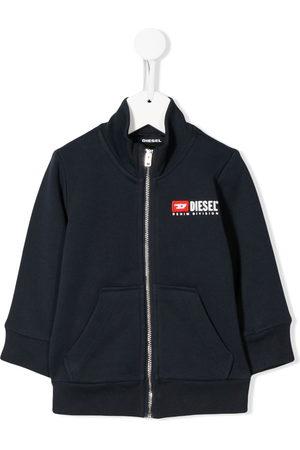 Diesel Sommerjacken - Embroidered logo jacket