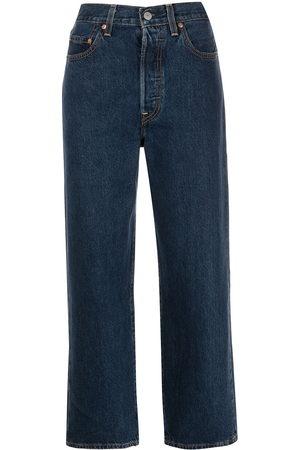 Levi's Ribcage straight-leg jeans