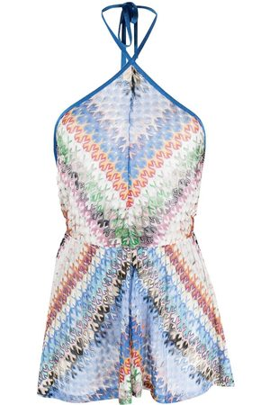 Missoni Fine-knit playsuit