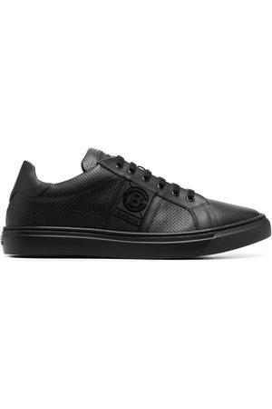 BALDININI Low-top leather sneakers