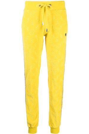 Philipp Plein Monogram logo track trousers