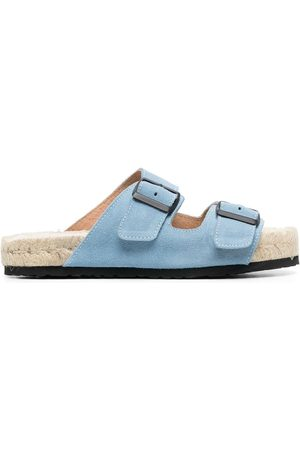 MANEBI Damen Sandalen - Buckled flat sandals
