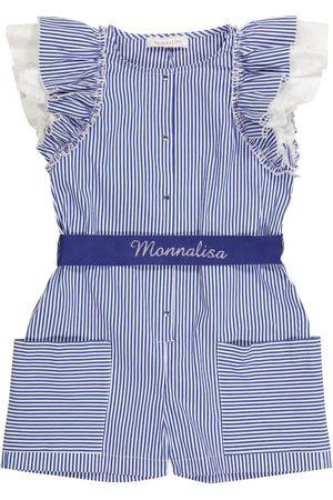 MONNALISA Playsuit aus einem Baumwollgemisch