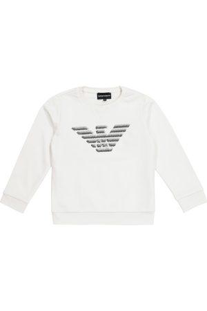 Emporio Armani Sweatshirt mit Baumwollanteil