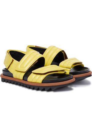 DRIES VAN NOTEN Sandalen aus Leder