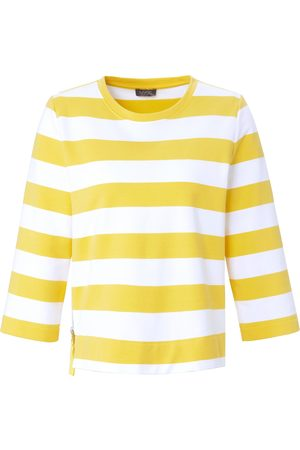 Mybc Damen Sweatshirts - Sweatshirt 3/4-Arm weiss