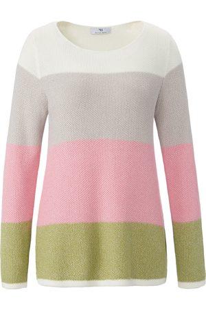 Peter Hahn Damen Sweatshirts - Pullover U-Boot-Ausschnitt rosé