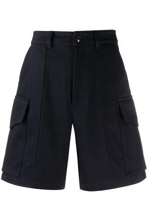 Ami Multiple-pocket knee-length shorts