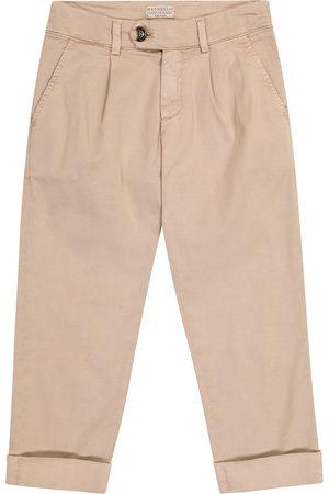 Brunello Cucinelli Hose aus Stretch-Baumwolle