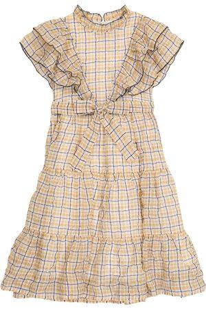 PAADE Kariertes Kleid Dana aus Chiffon