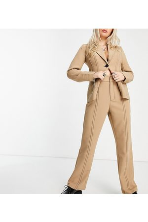4th & Reckless Co-ord suit trouser in off white