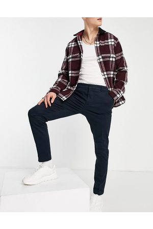 New Look Skinny chino trousers in navy