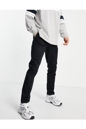 New Look Skinny chino trousers in black
