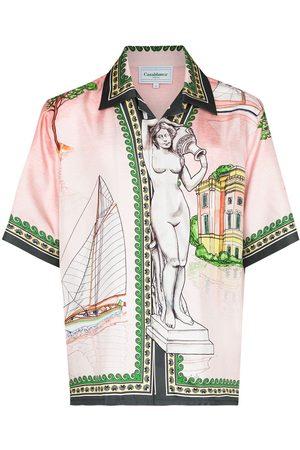 Casablanca Herren Shirts - X Browns 50 Lago de Casa shirt