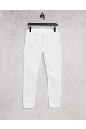 Topshop Damen Slim - Leigh jeans in white