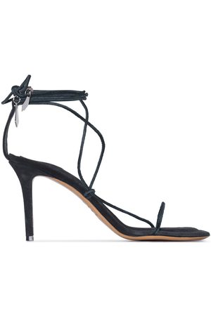 Isabel Marant Askee 95mm suede sandals