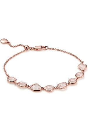 Monica Vinader Damen Armbänder - 18kt rose gold Siren Mini Nugget Cluster bracelet