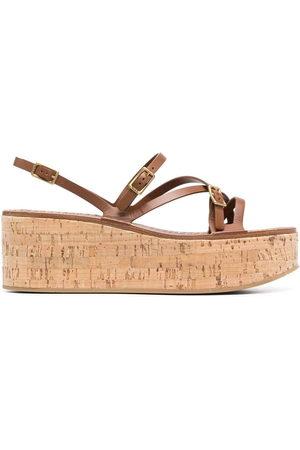 Tod's Damen Sandalen - Strap-detail platform sandals