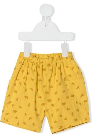 KNOT Cargo animal-print shorts