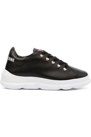 Love Moschino Damen Sneakers - Logo-print chunky sneakers