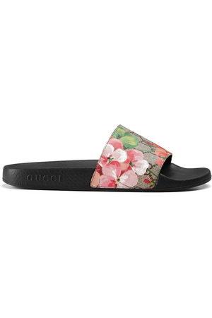 Gucci Damen Sandalen - GG Blooms Supreme slide sandals