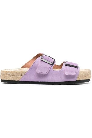 MANEBI Damen Sandalen - Buckled platform sandals