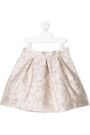 LA STUPENDERIA Luce floral-print miniskirt