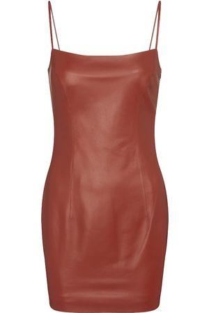 Zeynep Arçay Damen Freizeitkleider - Minikleid aus Leder