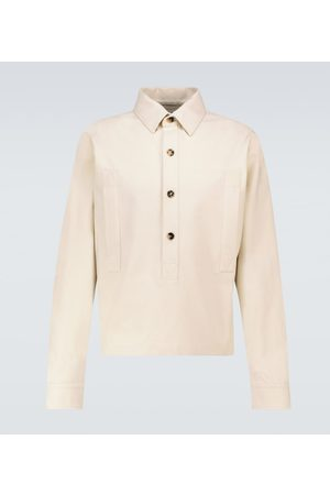 Bottega Veneta Hemd aus Baumwoll-Twill