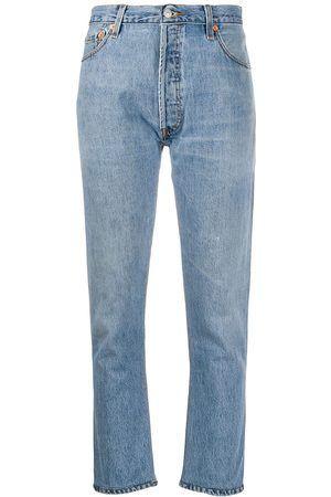 RE/DONE Damen High Waisted - High-rise cropped jeans