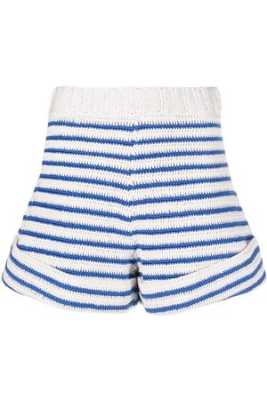 JEJIA Damen Shorts - Knitted cotton shorts