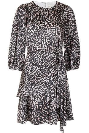 Sachin & Babi Damen Freizeitkleider - Sylvie animal-print dress