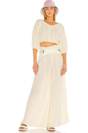 Free People Lou Lou Set in - Yellow. Size L (also in M, S, XS).