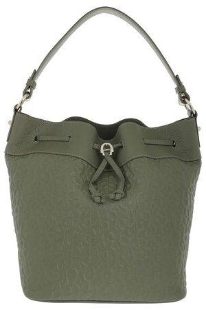 Aigner Satchel Bags Tara Handle Bag - in green - Henkeltasche für Damen