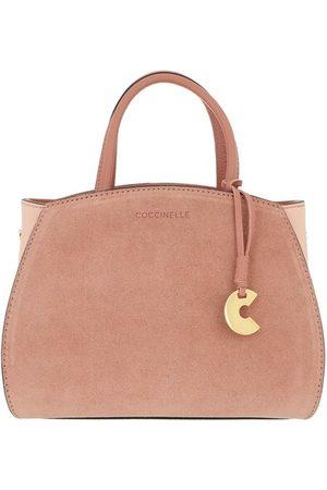Coccinelle Tote Bags Concrete Suede Bicolor - in - Henkeltasche für Damen