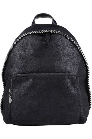 Stella Mccartney Tote Bags Shaggy Small Zip Around Backpack Black - in - Henkeltasche für Damen