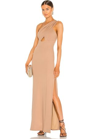 Lovers + Friends Stacey Dress in - Brown. Size L (also in XXS, XS, S, M, XL).